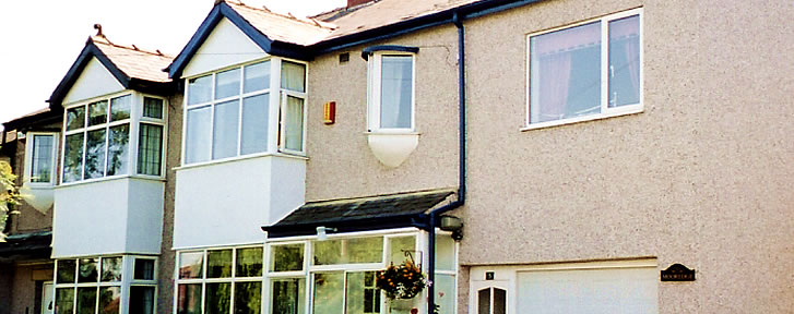 Exterior Wall Finishes : Leeds wall rendering finishes pebble dashing dashco
